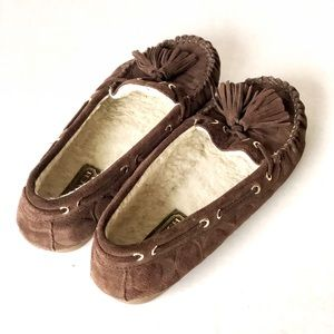 "7f4764ede2c Coach Shoes - Coach ""Anita"" Moccasins Slippers"